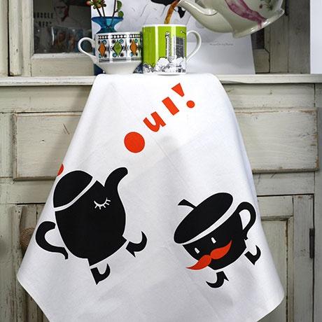 ToDryFor - Oui! Tea Towel