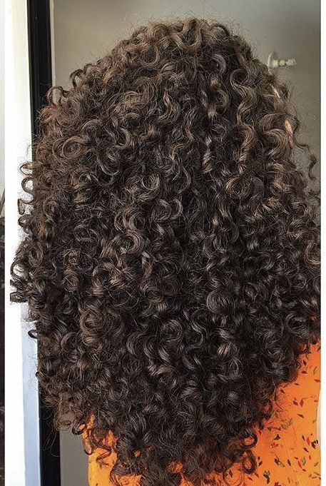 long curly hair ideas
