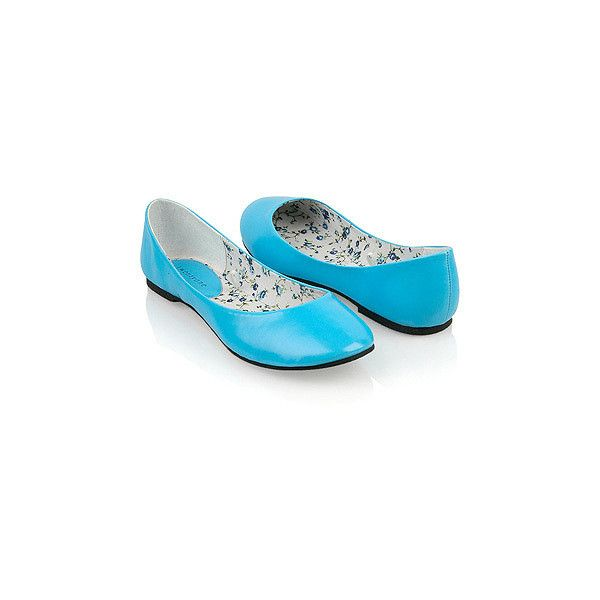 Neon Flats ($8.99) ❤ liked on Polyvore featuring shoes, flats, blue, sapatos, zapatos, casual, forever 21 shoes, flat shoes, forever 21 and forever 21 flats