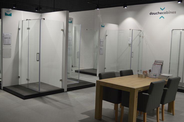 Badkamer inspiratie showroom, tegelshowroom, sanitair, douchecabines