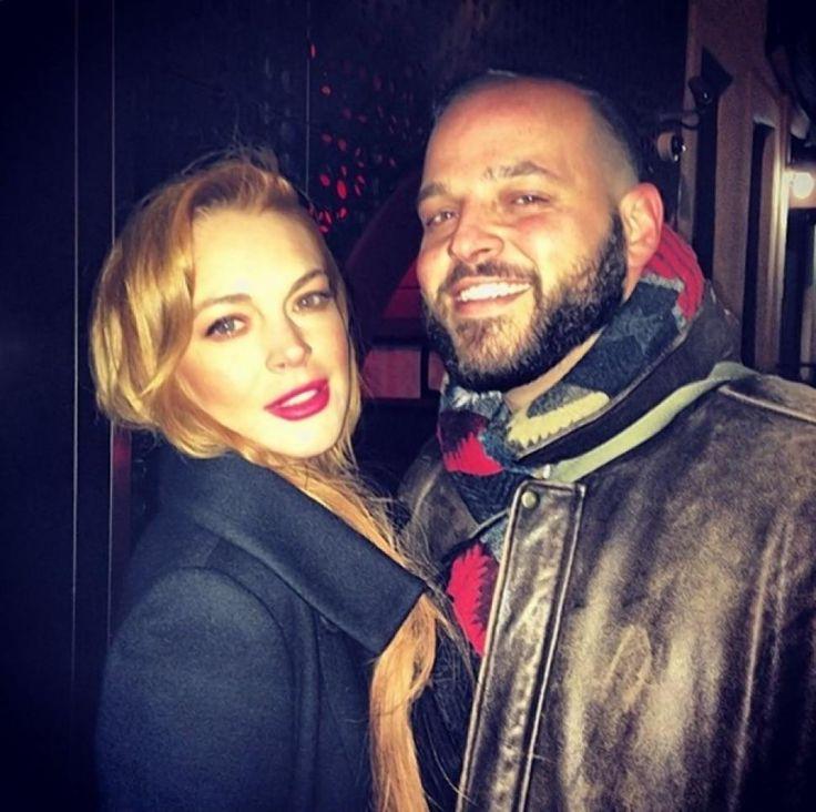 Lindsay Lohan reunites with 'Mean Girls' co-star Daniel Franzese at Bodega Negra