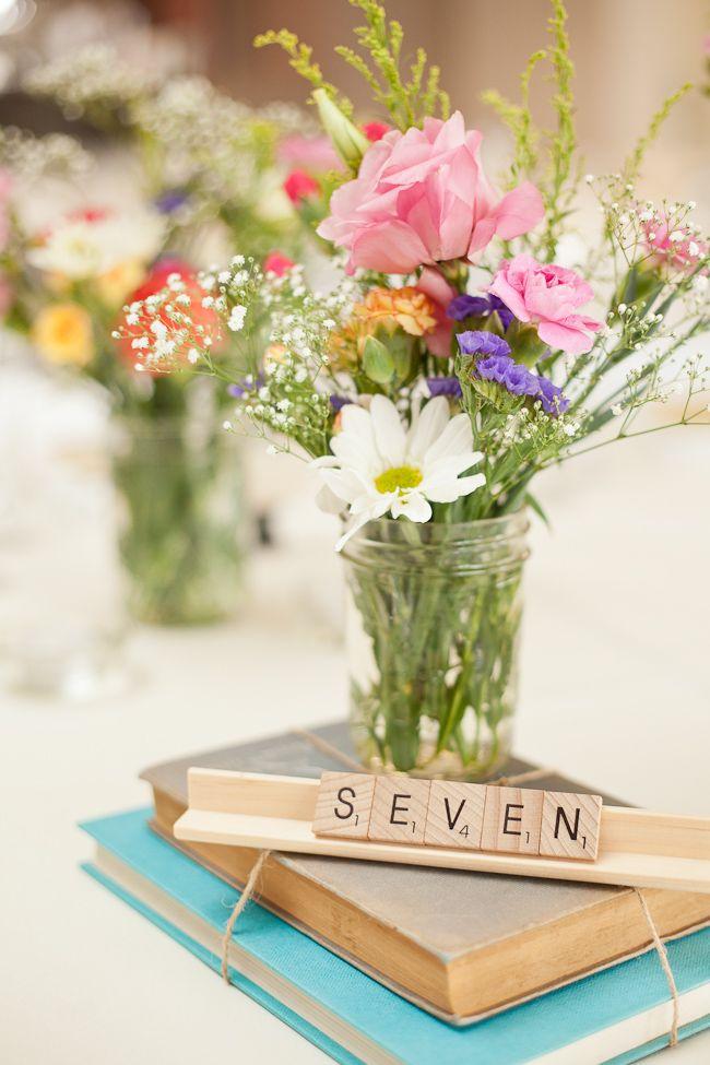 Pastel Vintage Garden Wedding - Toowoomba - Elleni Toumpas Photography Scrabble pieces as tables numbers