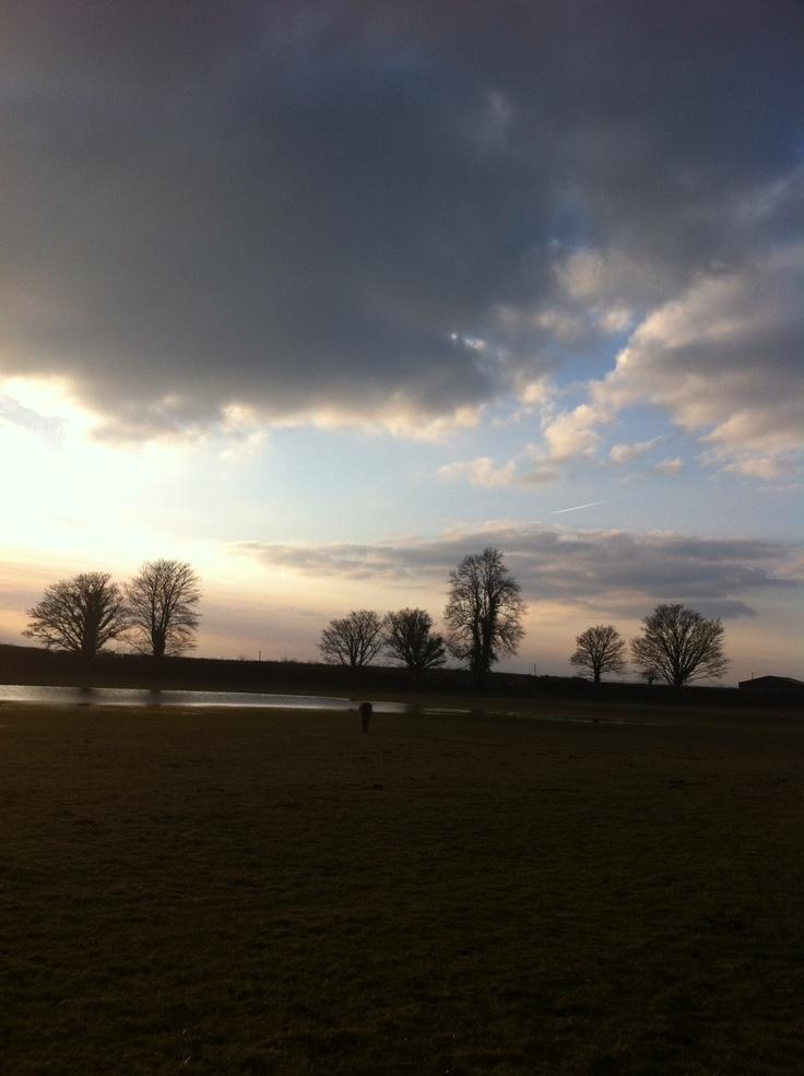 Sunset kilbline Kilkenny