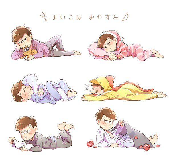おそ松さん Osomatsu-san  よい子はおやすみ