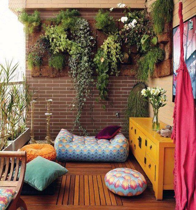 15 Beautiful Bohemian Balcony Decor Ideas That Require Minimal Effort