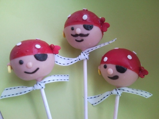 .pirate cakepops