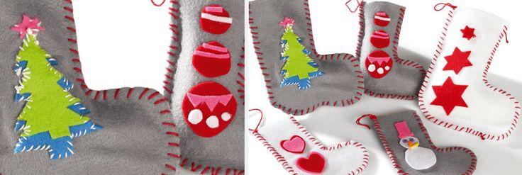 Réalisez des chaussettes de Noël avec Wesco Family