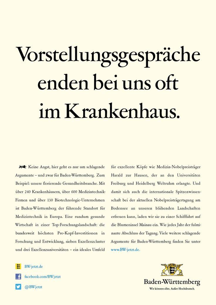 Keine Angst, hier geht es nur um schlagende Argumente – und zwar für Baden-Württemberg.