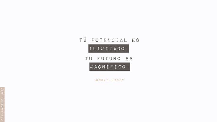 Encuentra aquí como demostrar tu potencial. #Portencial #memesSUD #SUD  http://canalmormon.org/ver/series/mensajes-mormones/su-potencial-sus-privilegios