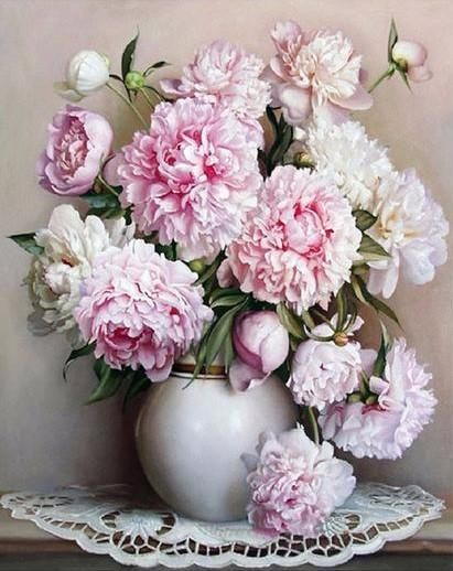 """Retail: $37.95 Today:$18.95 Do you love DIYing / Painting? Then this """"DIY Painting By Numbers - Peonies"""" is a MUST have. Great way to decorate your room and to release stress. Also makes a wonderful gift! Features: Size:16""""x20"""" / 40x50cm Frameless Oil Painting On Canvas Ideal Home Decoration For Living Room Include: 100% high quality cotton canvas; Nylon brushes; High quality acrylic paints You can get this at a great deal, but only for a limited time. Cl..."""