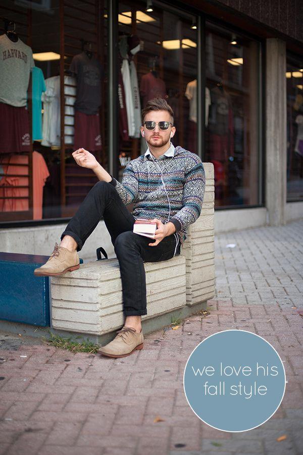 Boston Street Style - Men's Fall