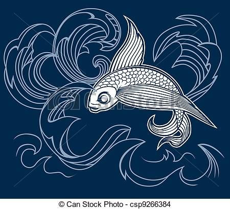 Flying fish art similar galleries flying fish cartoon for Flying fish drawing