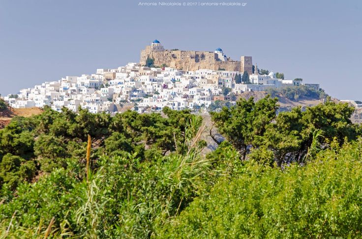 The view of the Venetian Castle from Agios Konstantinos! → www.astypalaia-island.gr