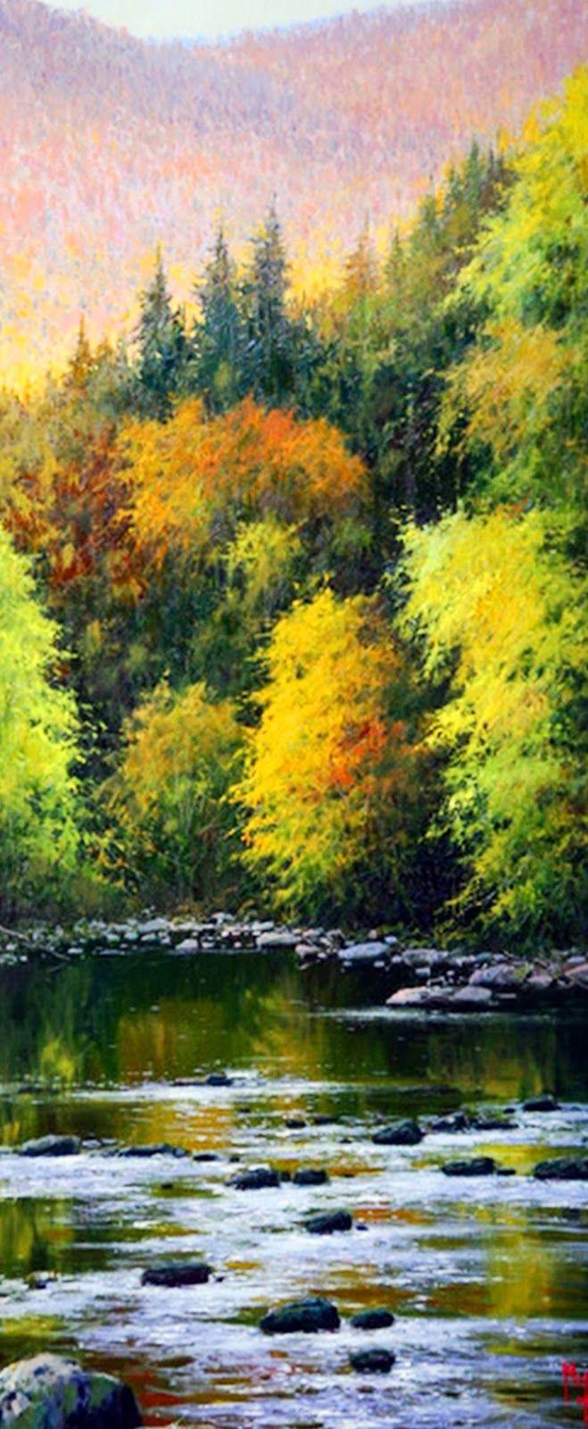 realismo-pinturas-de-paisajes-naturales