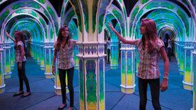 Mirror Maze - Challenge yourself at Magowan's Infinite Mirror Maze