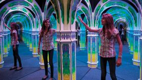 Mirror Maze - Challenge yourself at Magowan's Infinite Mirror Maze