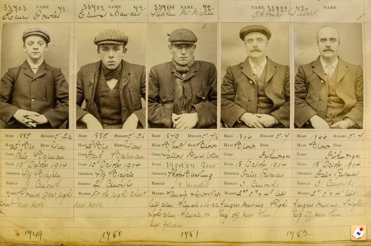 peaky blinders - mugshots 1800s - Google Search