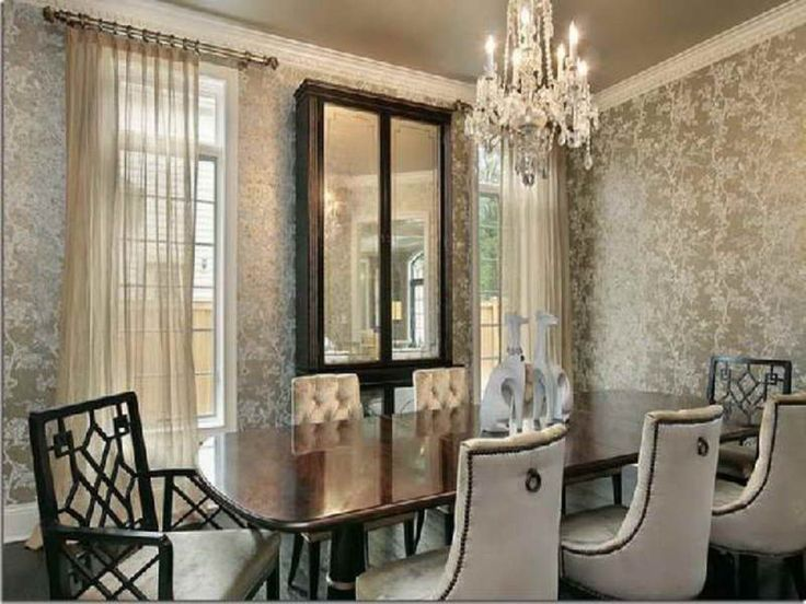 Dining Room Wallpaper Ideas Part - 21: Gorgeous Dining Room Ideas With Modern Wallpaper Interior Design Gorgeous Dining  Room Ideas Small Dining Room