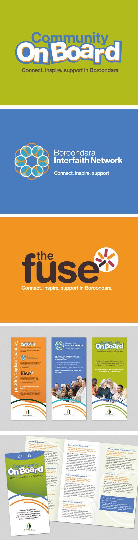 Community sub brands for City of Boroondara. www.fenton.com.au #communication #PR #branding #graphicdesign
