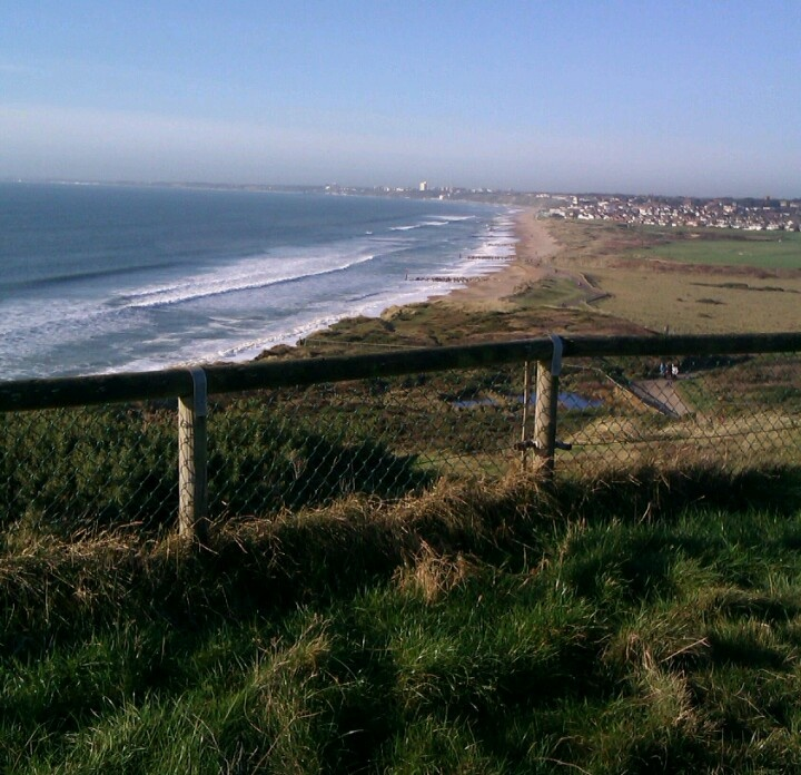 View of Southbourne & Bournemouth from Hengistbury Head.