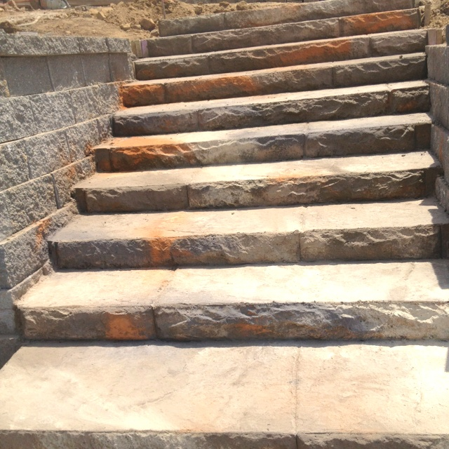 Concrete Steps That Look Like Stone Front Porch