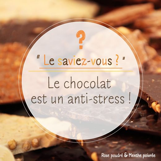 Le chocolat aide à réduire la fatigue et redonne le sourire ! #rpmp #chocolat #lesaviezvous #didyouknow #astuce #tip #snack #gouter #cocoa #iminlovewiththecocoa #stress #food #enjoy