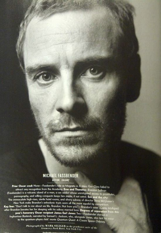 Michael Fassbender in Vanity Fair Magazine [MQ] [Copy *here*]