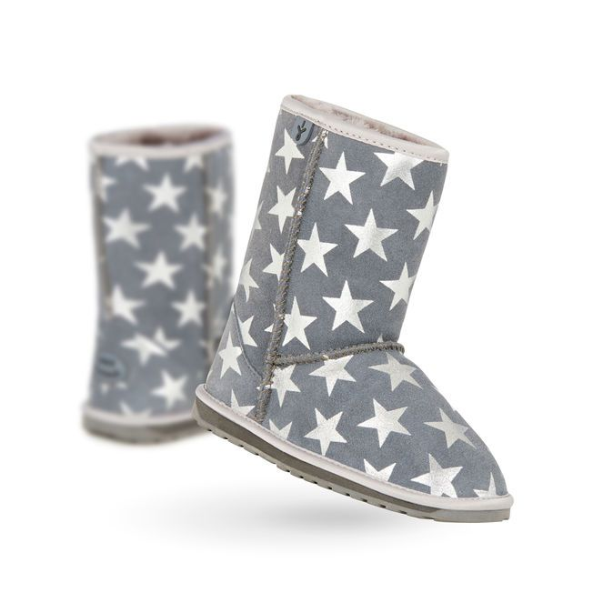 Starry Night Kids Deluxe Wool Boot- EMU Australia