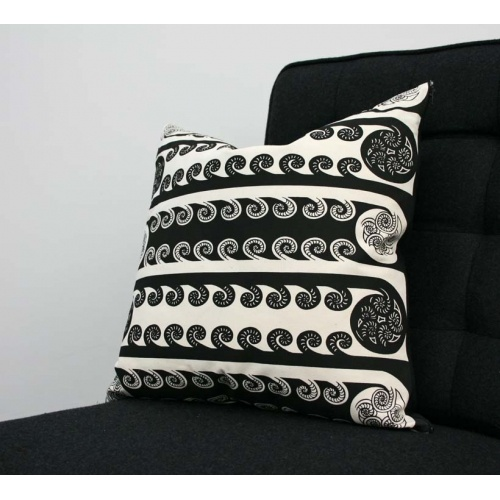 Ponga Pattern Cotton Cushion available at The Poi Room