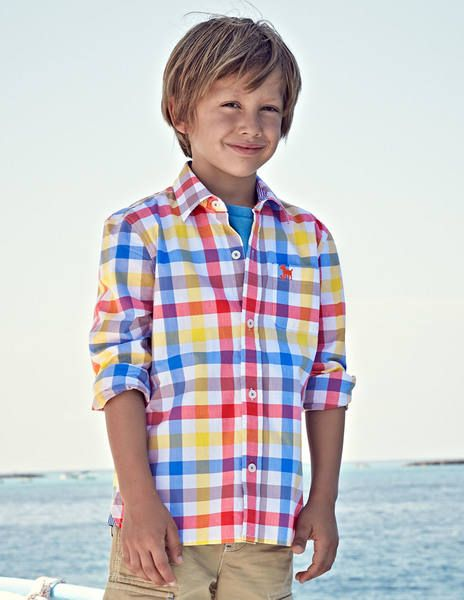 Laundered Shirt 21773 Shirts at Boden