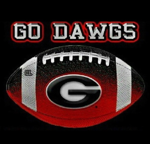 Go DAWGS Georgia bulldogs football