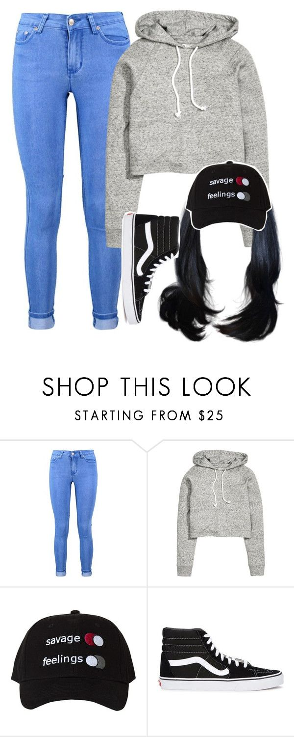 """gonna get some early black friday shopping done"" by princessdari ❤ liked on Polyvore featuring Boohoo, H&M and Vans"