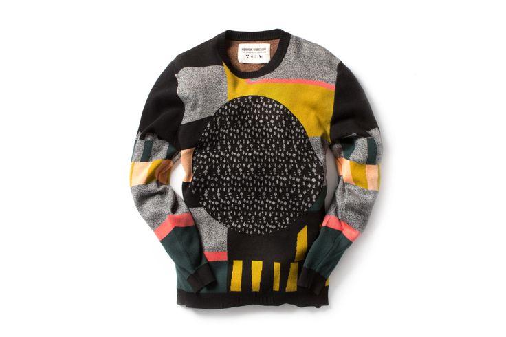 Image of Henrik Vibskov 2014 Fall/Winter Sweaters