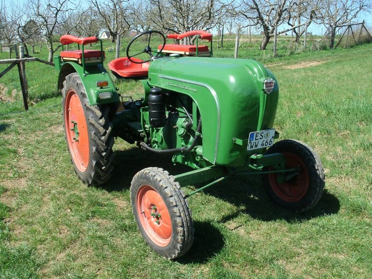 Schlepper Traktor Oldtimer Allgaier A16, Baujahr 1953- Sammlerstück | eBay
