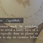 WTF is Sgraffito?