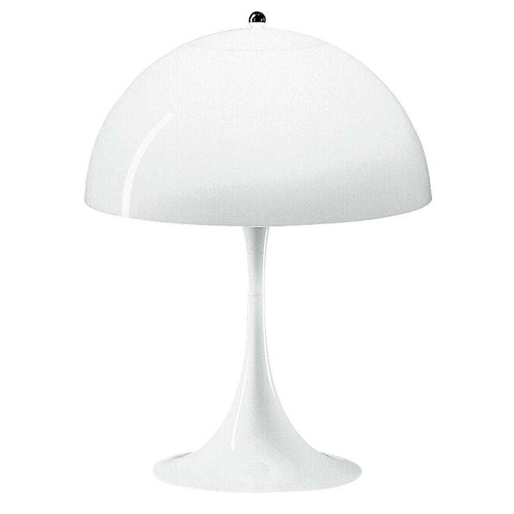 Panthella bordlampe fra Louis Poulsen, design Verner Panton.