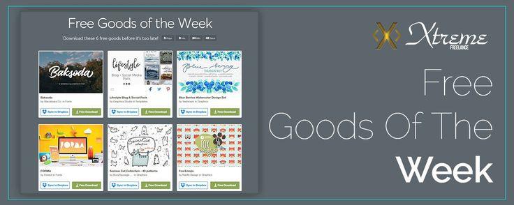 Free Goods Of The Week July 10 #xtremefreelance #wordpressdevelopment