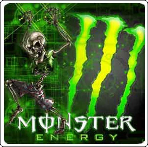 Halloween Is Coming Over Monster Energy Funny Skeleton
