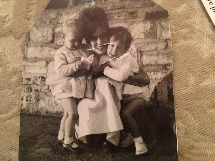 My beautiful Mummy Barbara. Me the blonde and my cousin Lesley xxx