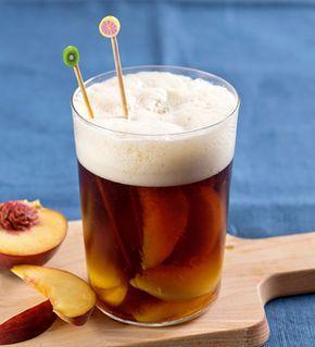 Altbierbowle mit frischen Pfirsichen von Einfach Hausgemacht, Mein Magazin für Haus und Küche