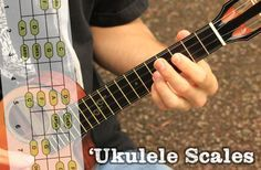 Here's a great collection of ukulele scales to practice!