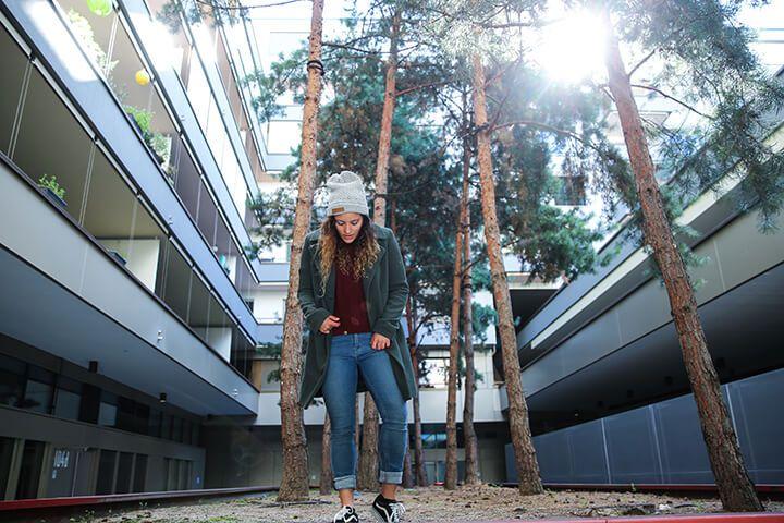 Fair Fashion Outfit Inspiration: Jungle Folk, MUD Jeans, Zürich