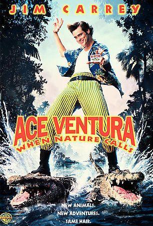 ACE VENTURA When Nature Calls (1995) Jim Carrey, Simon Callow, Tommy Davidson
