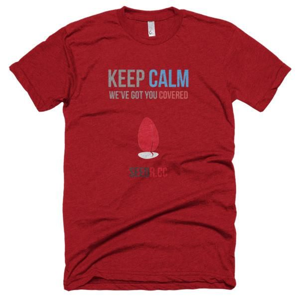 Seedr.cc keep calm t-shirt: show your Seedr.cc love today!