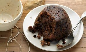 Stout plum pudding