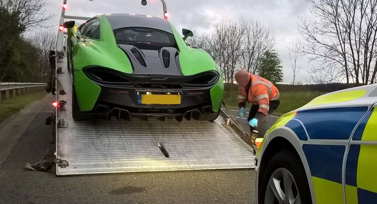 UK Police Impound 3 Supercars Over Anti-Social Driving