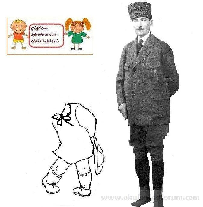 Atatürk'le Bayramımıza gelen çocukları karşılıyoruz..! | OKUL ÖNCESİ FORUM