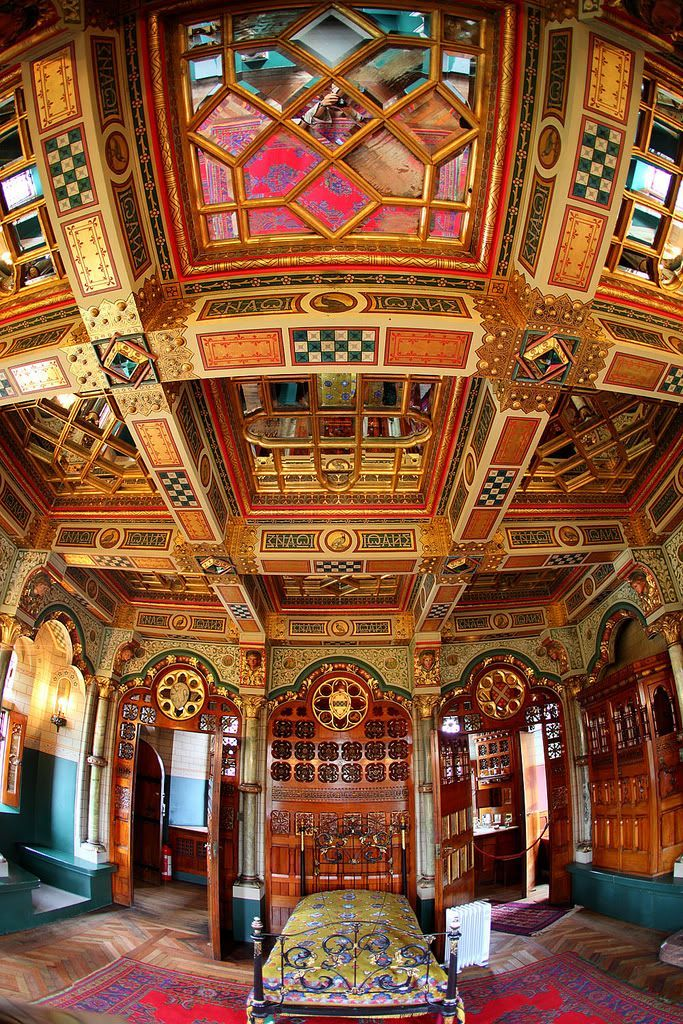 Cardiff Castle, Cardiff, South Wales, UK - Designed by William Burges