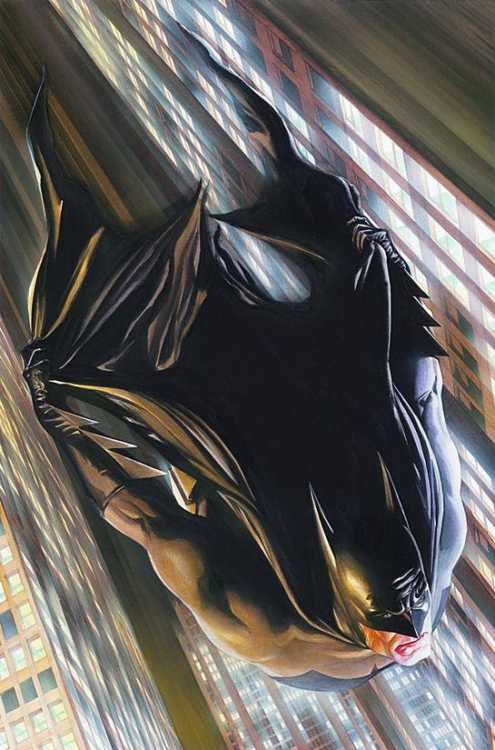alex ross: o hiper-realismo nas histórias em quadrinhos.