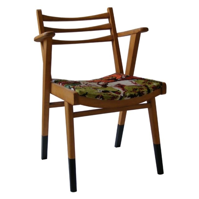 chaise bureau style 50s